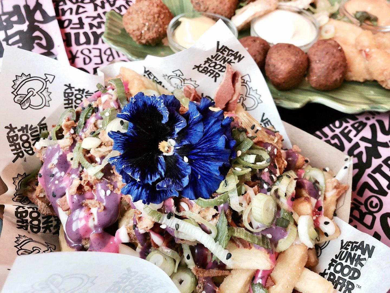 Vegan Food Is Taking Over! | Vegan Junk Food Bar, Amsterdam
