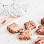 Raspberry Blondies Recipe Food