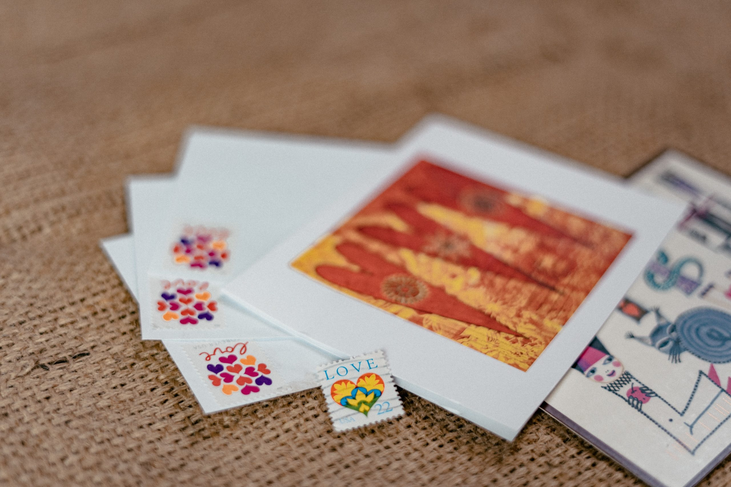 Free postcards to send to loved ones in a bid to spread joy across the nation