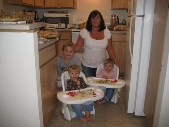 Sarah Centrella and kids 2009