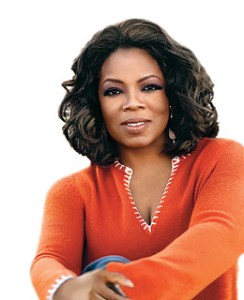 Oprah's advice on how to get grateful.