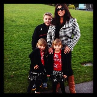 sarah centrella and kids 2012