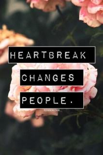 moving past heart break