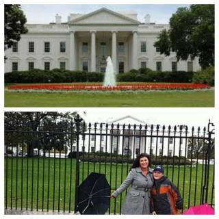 sarah centrella at the White House