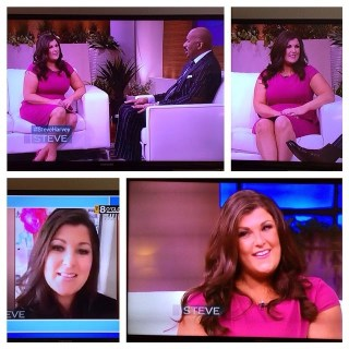 Sarah Centrella on Steve Harvey SHow