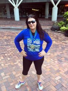 sarah centrella Portland Marathon