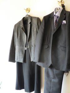 スーツ 卒業式