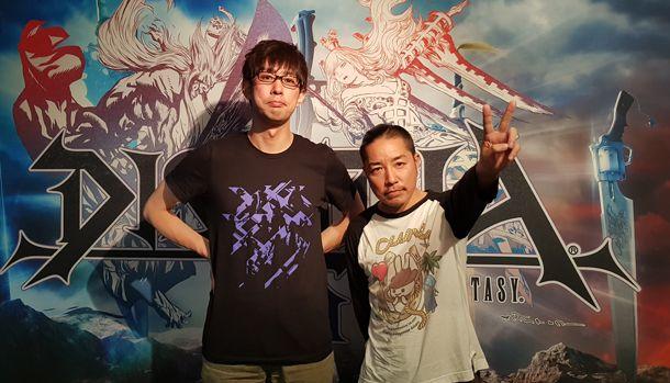 Ichiro Hazama Dissidia Final Fantasy