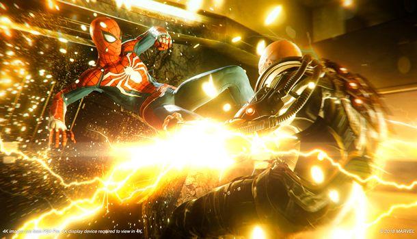 Spider-Man PS4 E3 2018