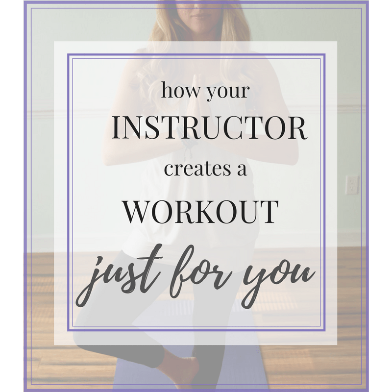 How Your Pilates Instructor Uses a Postural Assessment to Create a Workout Specifically for YOU!