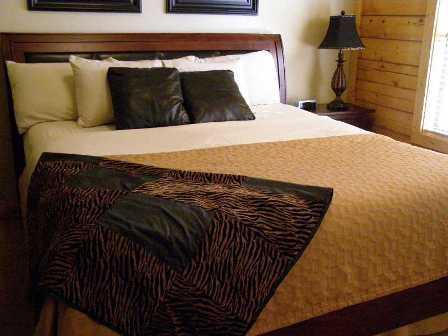 log-cabin-bedroom