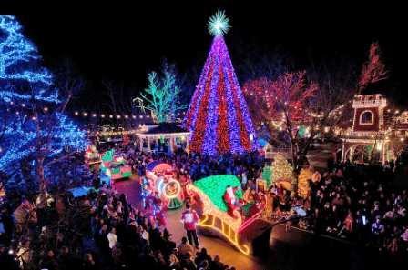 branson christmas lights - Silver Dollar City Christmas