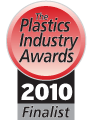 2010 Plastics Industry Awards Finalist