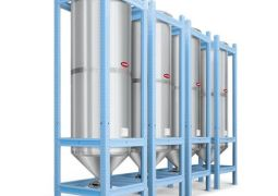 INDOOR STAINLESS STEEL SILOS