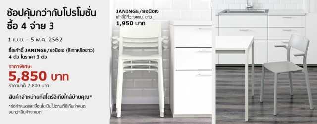 IKEA สินค้า ลดราคา ส่วนลดต่างๆ ที่ อิเกีย บางนา บางใหญ่ เมษายน 2562