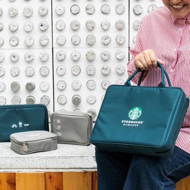 Starbucks Reward ของสะสม เซ็ทกระเป๋า ป้ายห้อย กระปุกออมสิน พวงกุญแจ สตาร์บัคส์ 2019