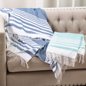 SARO stripe throw