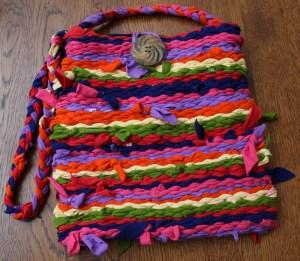T-shirt purse