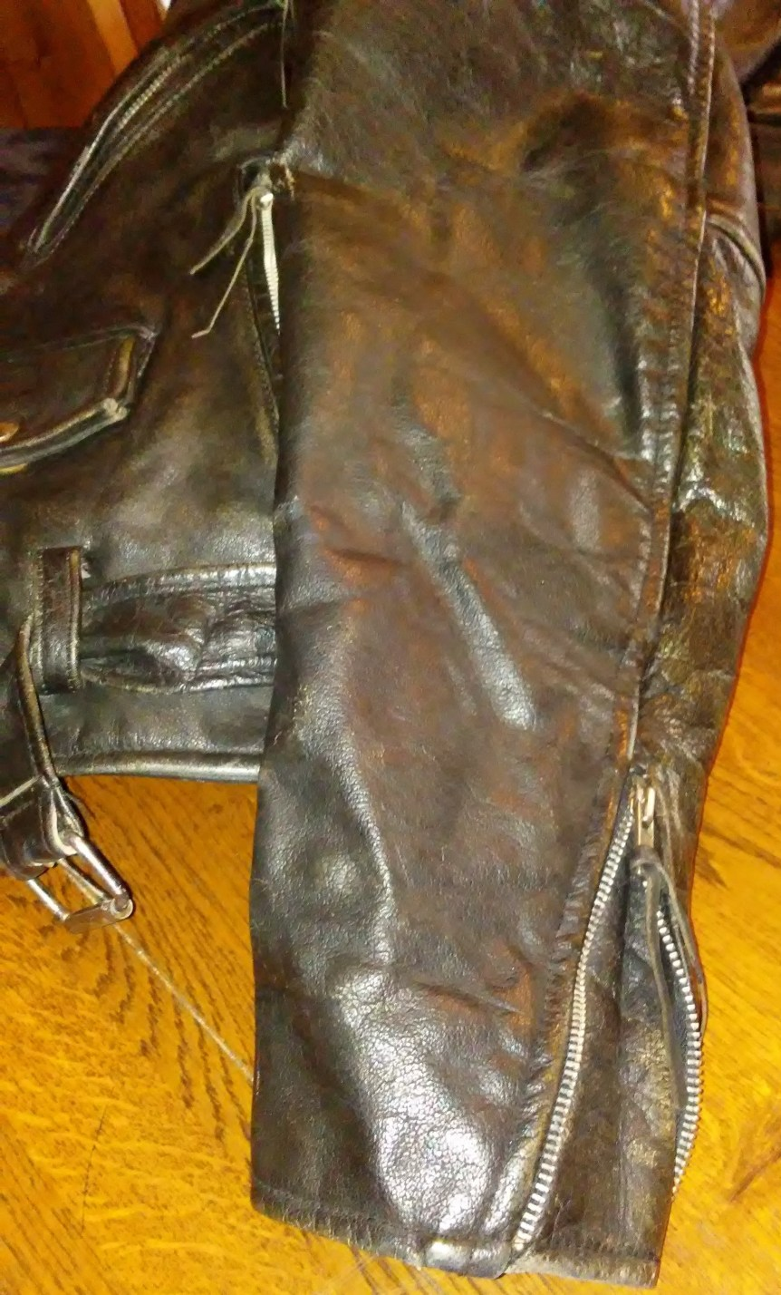 Attempting to restore biker leather