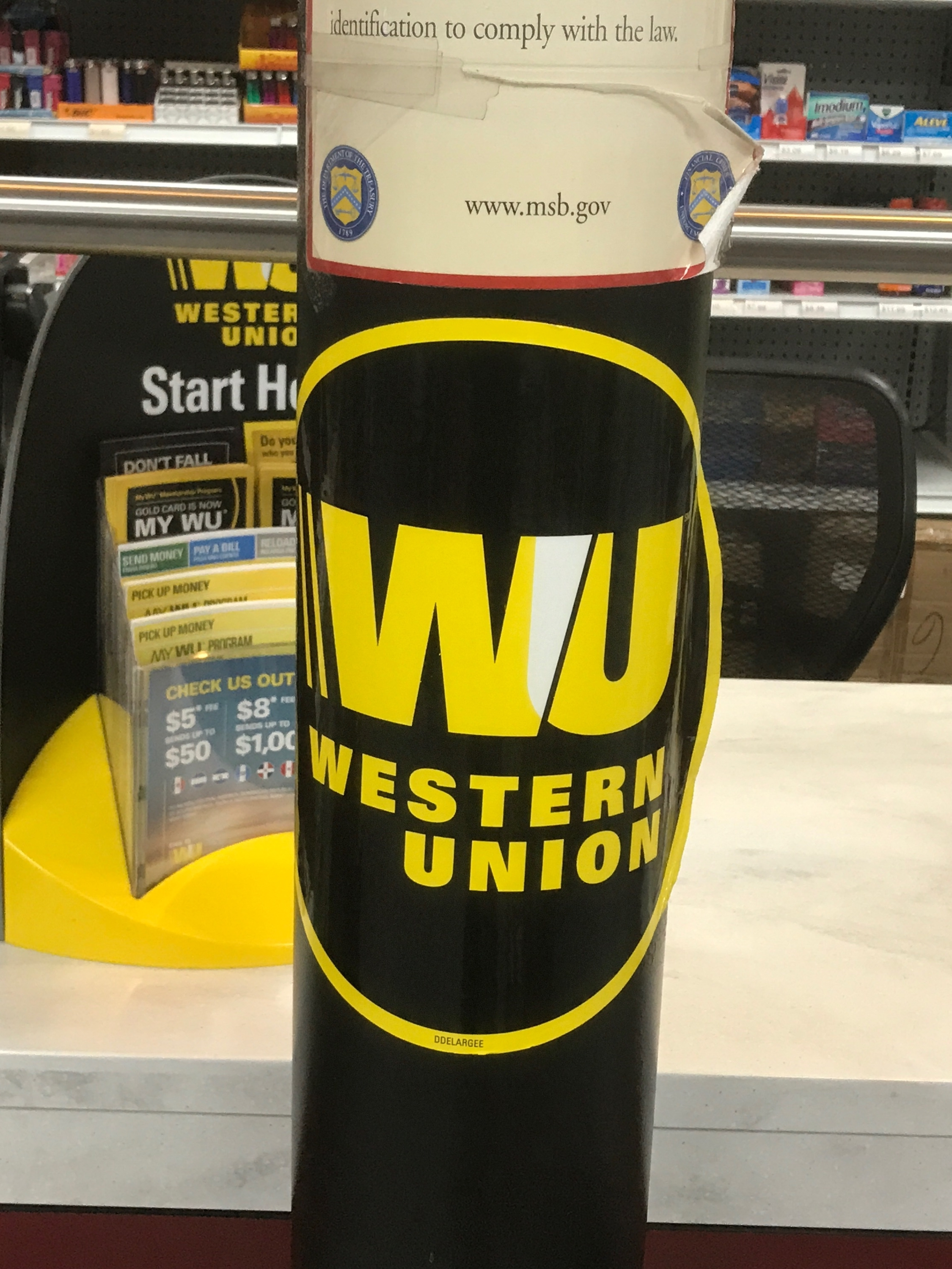 Western Union Money Orders in Baltimore