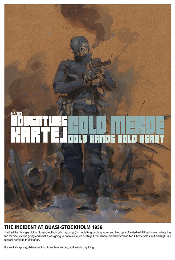 Cold Merde Poster