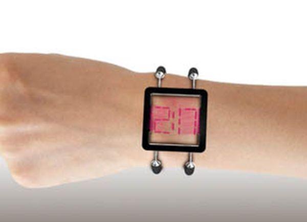 Vain Transparent Watch