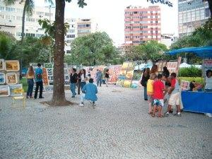 Hippie Fair in Downtown Rio - Feira Hippie
