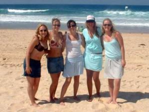 Girls on Maroubra Beach Sydney