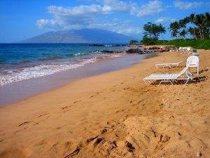 Mokapu Beach in Wailea