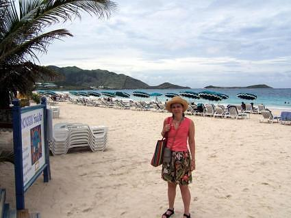 Orient Beach, Saint Marten, French Caribbean