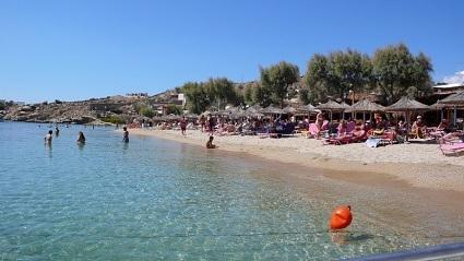 Super Paradise Beach of Mykonos