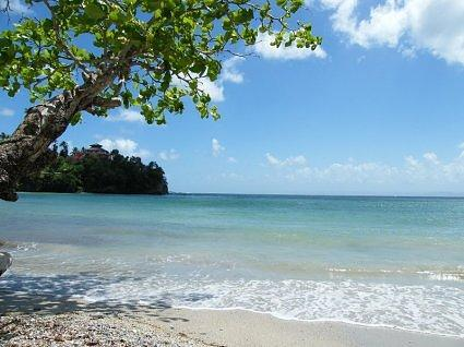 beach in Samana/Dominican Republic