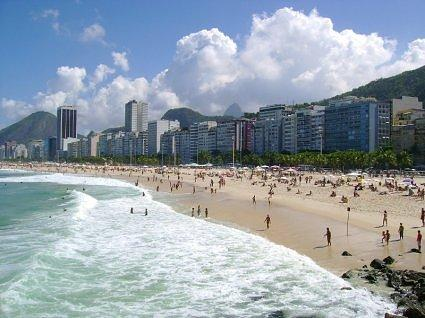Picture of Copacabana Beach in Rio