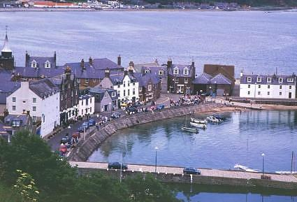 Scotland - A view on Stonehaven harbour