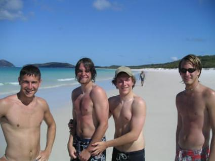 Whitehaven Beach - Jon Joe Ben Jeremy - from James