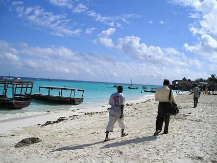 N Ras Nungwi , northern tip of Zanzibar