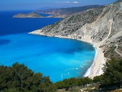Myrtos Beach, Crete, Greece
