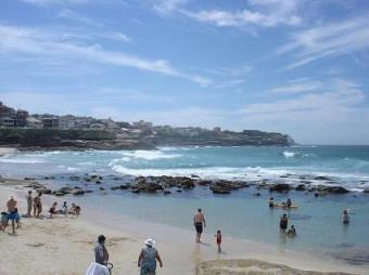beach along the bondi-coogee beach walk