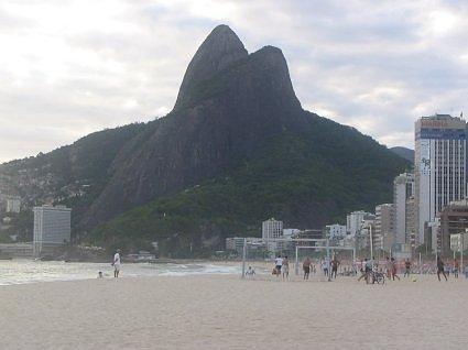 Ipanema beach and Leblon beach