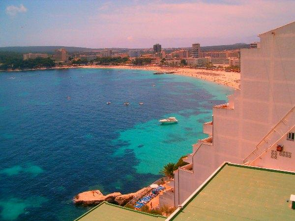 Magaluf Royal Beach, Mallorca, Spain