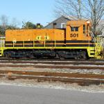 Cross-State Railroad in Fernandina Beach, Florida