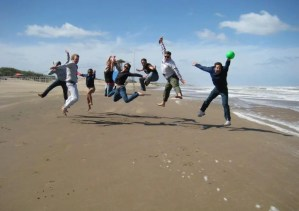 Fun at Carilo Beach Argentina