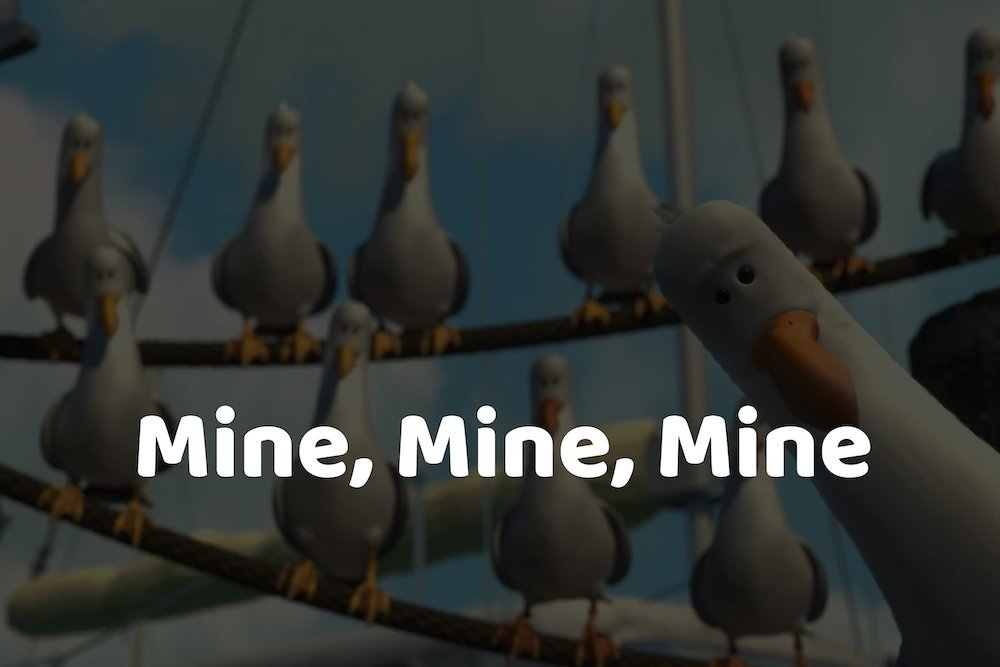 Mine, Mine, Mine Image