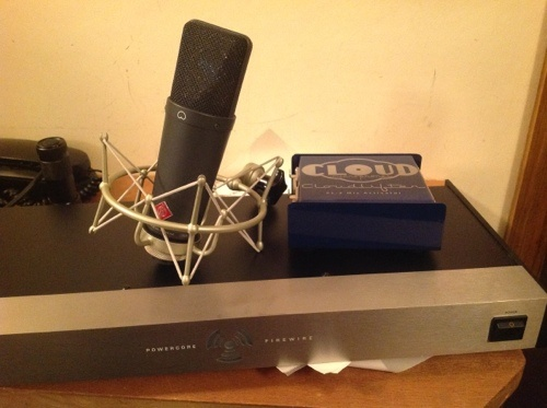 Threecircles Recording Studio Essex - Neumann TLM 193 CLoudlifter CL-2 TC Powercore