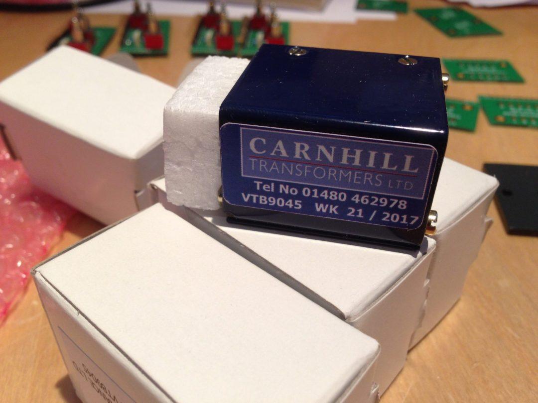 AML ez1081 Mic Pre - Carnhill Transformer