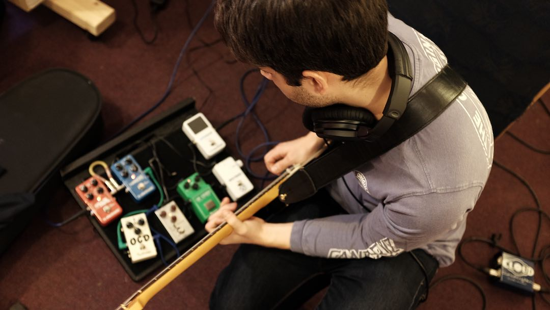 Recording a band in the studio – Part 2