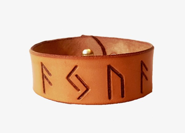 unic cuff AJUA made from leather