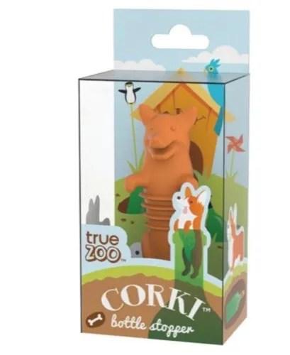 Corki bottle stopper Corgi