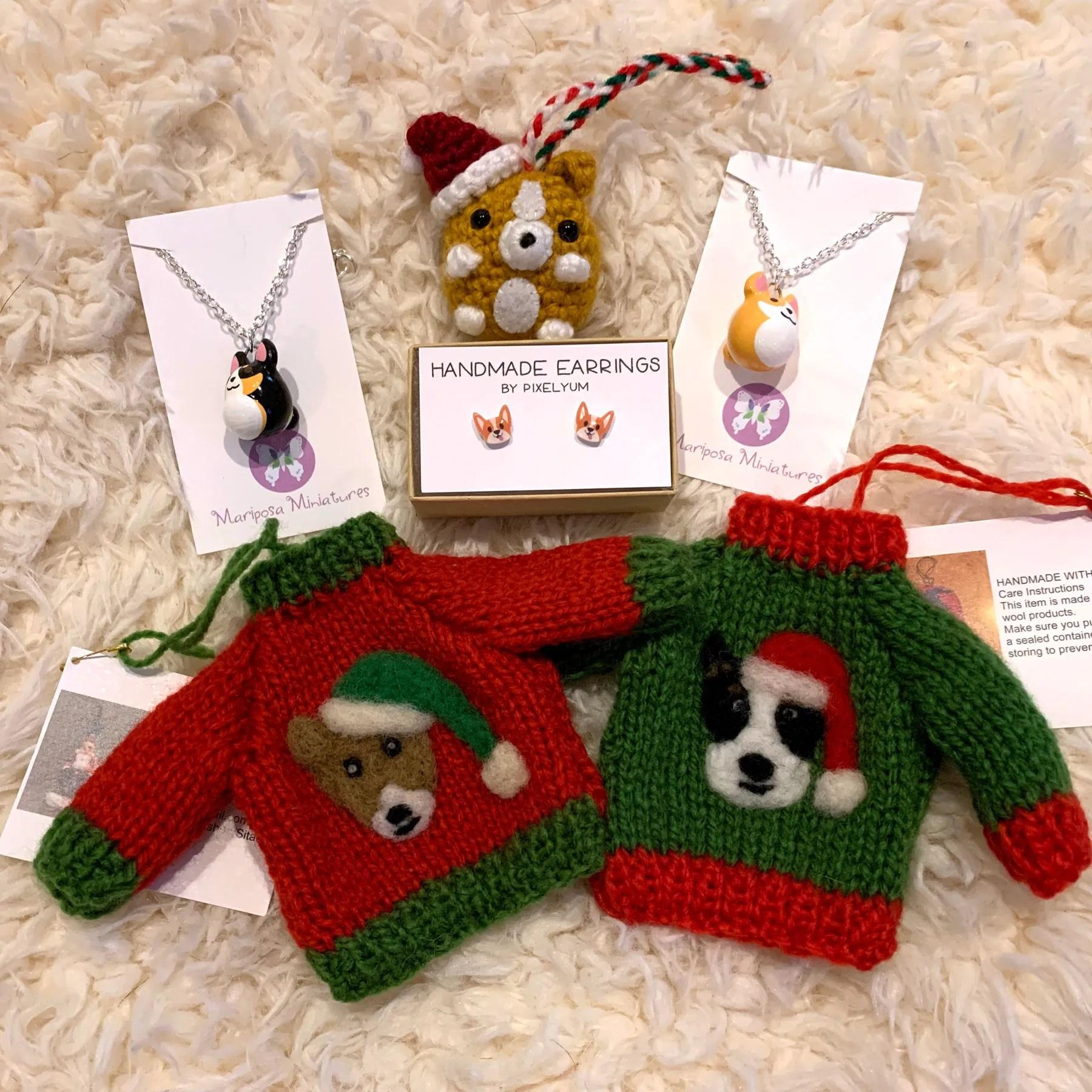 Handmade Corgi Gifts