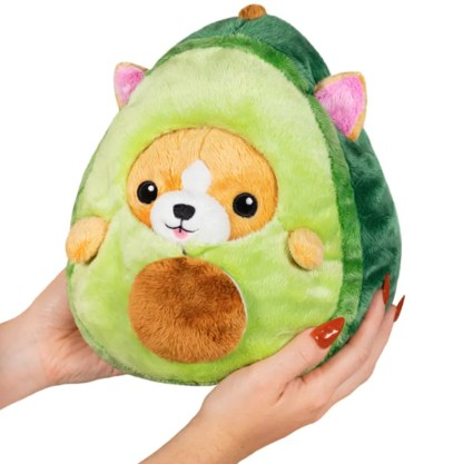 Squishable Corgi Avocado